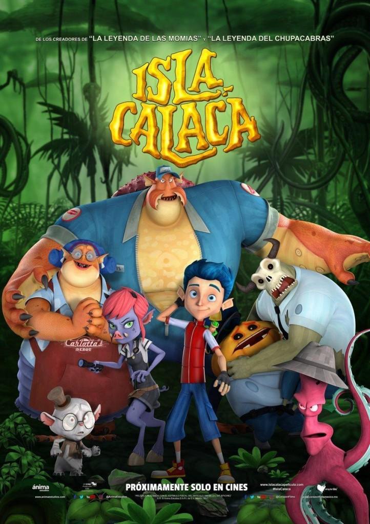 Isla Calaca [2017] V3 [NTSC/DVDR- Custom HD] Ingles, Español Latino